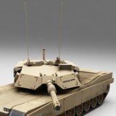 Ww2 Usa M1 Abrams Tank
