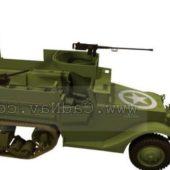 Usa Military M3 Armored Half-tracks