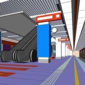 Subway Station Building Design