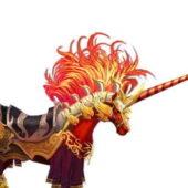 Unicorn Mount Game Character