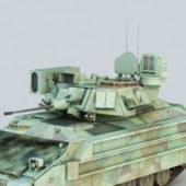 Us M2 Bradley Statesman Defense Tank