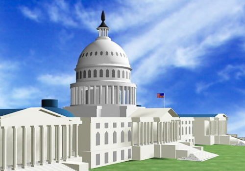 United States Capitol Building Architecture