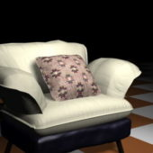 Home Furniture Sofa Chair With Pillow