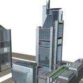 Urban Complex Architecture Building