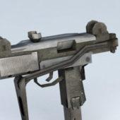 Gun Uzi Pistol