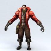 Vampire Hunter Character