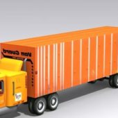 Vanguard Vehicle Semi Trailer Truck