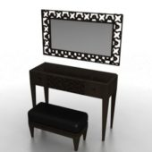 Vanity Table Furniture With Mirror