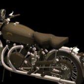 Motorcycle Vincent Black Shadow