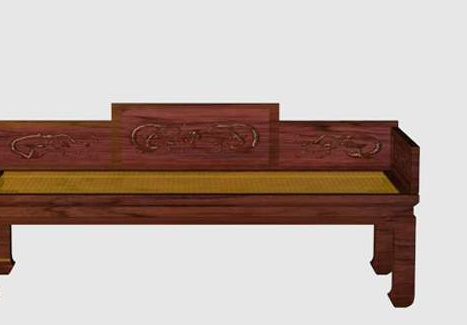 Vintage Furniture Chinese Daybed