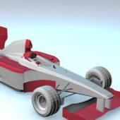 Vintage Car F1 Design