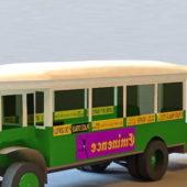 Indian Vintage School Bus