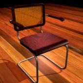 Vintage Office Cantilever Chair