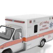 Vintage Ford Ambulance Vehicle