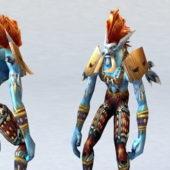 Character Voljin World Of Warcraft