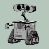 Character Wall-e Robot