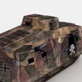 Ww1 Germany Military A7v Tank