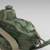 Ww1 Military Renault Ft17 Tank