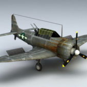 Ww2 Fighter Airplane