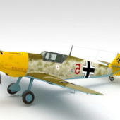 Wwii German Bf109e Aircraft