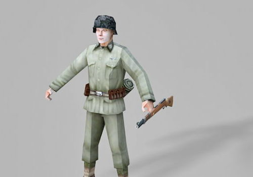 Character Ww2 German Soldier