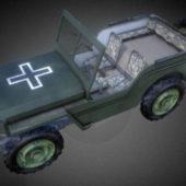 Wwii Jeep Vehicle