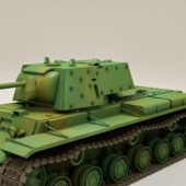 Ww2 Soviet Kv-1b Tank