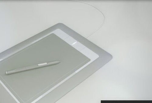 wacom bamboo tablet and pen free 3d model c4d 123free3dmodels