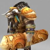 Warcraft Bloodhoof Character
