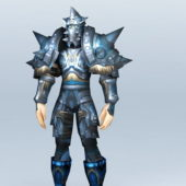 Warcraft Death Knight Character