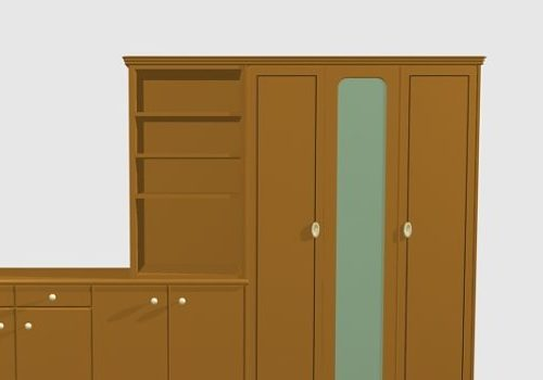 Wardrobe Furniture Cabinet