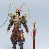 Warrior Character God Of War