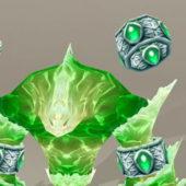 Character Water Elemental Creature