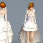 Beauty Wedding Dress Bride Character
