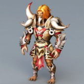 Lion Warrior Character