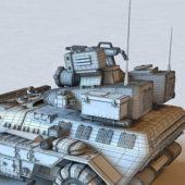 Wheeled Combat Military Vehicle