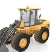 Industrial Wheeled Bulldozer