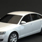 White Audi A6 Sedan Car