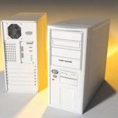 Old White Pc Case