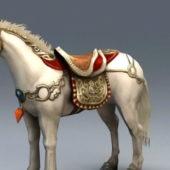 White War Horse Animal
