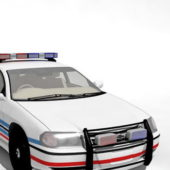 American Police Car