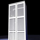 Home Furniture White Tall Bookcase