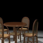 Furniture Wicker Dining Room Sets