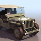 Willys Mb Army Jeep