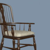 Furniture Windsor Chair With Arms