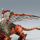 Fantasy Winged Tiger
