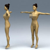 Character Woman Body