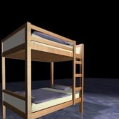 Home Furniture Wood Bunk Beds With Stairs