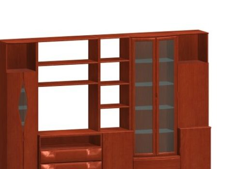 Wooden Furniture Wall Units