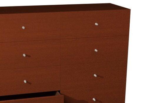 Wooden Sideboard Chiffonier